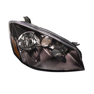 New 2005 2006 Fits Nissan Altima Hid Replacement Headlight Headlamp Right New
