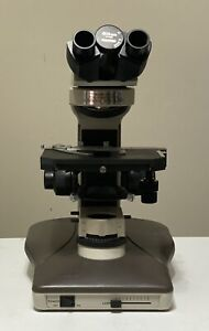 Nikon Labophot 2 Microscope Base Focus Block Mechanical Stage Binocular Head