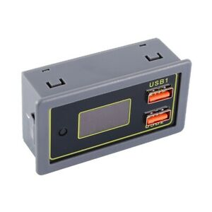 Lcd Digital Battery Capacity Indicator Voltmeter 24w Voltage Monitor Ip6505t