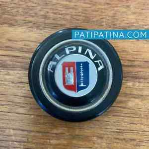 Early Chrome Ring Alpina Horn Button Made By Momo For Bmw Alpina E9 02