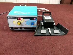 Valleylab Surgistat Ii Electrosurgical Unit With Foot Pedal esu a3 2