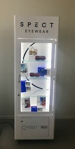 Red Bull Spect Eyewear Glass Display Case case Only New In Box W Power