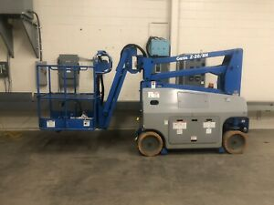 Genie Z 20 8n 26 Articulating Boom Lift good Condition new Batteries