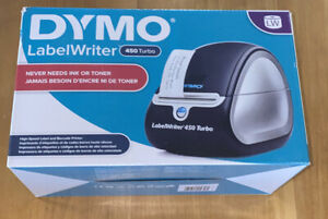 Dymo Labelwriter 450 Turbo Thermal Label Printer Inkless Brand New In Box
