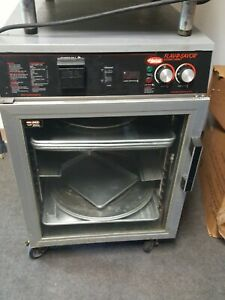 Flav r savor Holding Cabinet Pass thru Mobile Heated Thermostatically contro