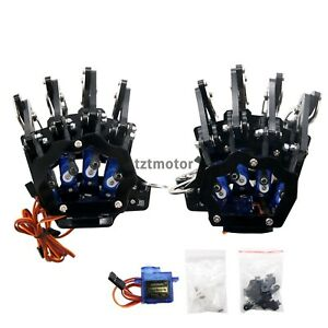 Diy Mechanical Claw Clamper Gripper Arm Right Left Hand With Servos For Robot
