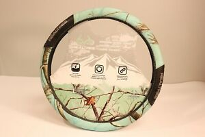 Realtree Soft Touch mint Camo Steering Wheel Cover 15
