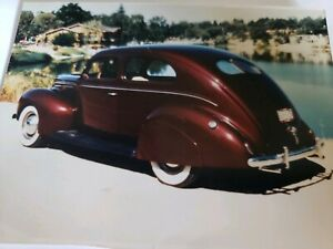 1937 40 Ford Tear Drop Fender Skirts New Steel Reproduction Usa Made Nice