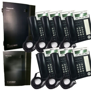 Panasonic Phone System Bundle 7 Phones 1 Voice Processing And 1 Pbx System
