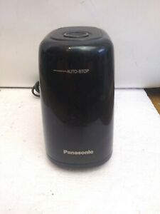 Panasonic Kp 150 Black Electric Pencil Sharpener With Auto Stop