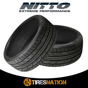 2 New Nitto Nt555 G2 255 35 18 94w Ultra High Performance Sport Tire
