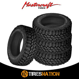 4 New Mastercraft Courser Mxt 37x12 50r20 10 126p Tires