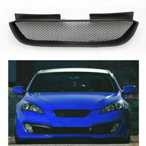 Front Hood Mesh Grille Bumper Grill Fits Hyundai 08 2012 Genesis Coupe Black Us