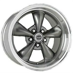 1 New 16x7 American Racing Torq Thrust M Gray Wheel Rim 5x115 16 7 Et35