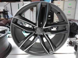 Wheel 20x8 1 2 Alloy 5 Double Spoke Fits 16 18 Audi S6 837169
