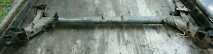 Ford Festiva Rear Beam Or Axle