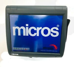 Micros Workstation 5a Ws5a 400814 101 Pos Touch screen System 2gb No Cf os