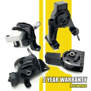 4pcs Transmission Motor Mount Kit For 03 08 Toyota Corolla 1 8l At