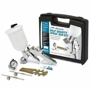 Anest Iwata 9276 Air Gunsa Hvlp Gravity Spray Gun Kit New