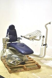 Pelton Crane Sp30 Dental Exam Chair Operatory Set up Package Ultraleather Blue