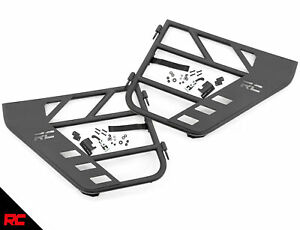 Rough Country Steel Tube Rear Doors Fits 19 20 Jeep Wrangler Jl 4dr Gladiator Jt