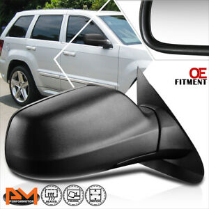 For 05 10 Jeep Grand Cherokee Oe Style Power heated Side Rear View Mirror Right