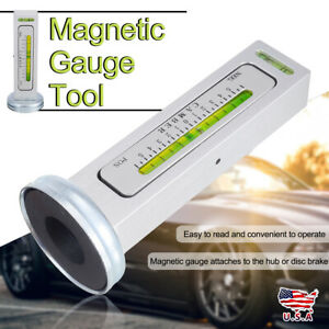 Universal Magnetic Gauge Tool Car Camber Castor Strut Wheel Alignment Truck Us