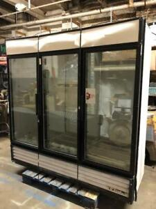 Cooler Self Service Refrigerator 3 Door Glass Commercial Used Drink To Go Box