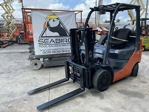 2013 Toyota 4000 Lb Lpg Forklift 4 000 Lb 8fgcu20 Side Shift