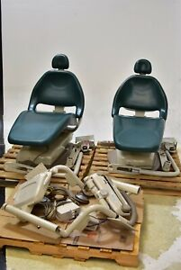 Lot Of 2 Midmark Elevance Dental Exam Chairs Operatory Set up Packages