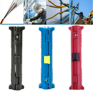 Multi functional Rotary Coaxial Cable Stripper Wire Cutter Stripping Pliers Tool