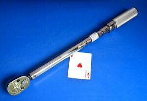 Snap On Tools 1 2 Drive Metric Ratchet Torque Wrench 200nm Calibrated 5 2012