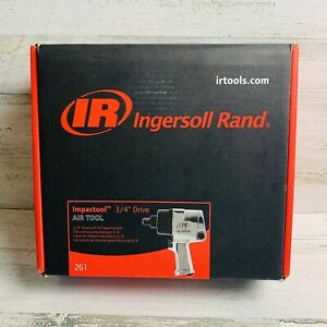 3 4 Drive Super Duty Air Impact Wrench Ingersoll rand Ir 261 New