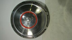 Oustanding 1968 69 70 71 72 73 74 Dodge Redline Chrome Poverty Dog Dish Hubcap