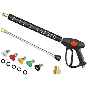 Aff Long Pressure Washer Spray Gun Replacement Lance Extension Wand adjustable