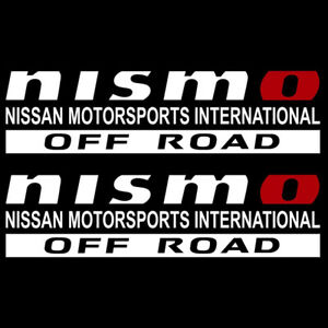 Nissan Motorsports International Off Road Nismo Sticker Decal 02