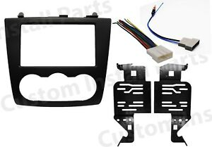 Double Din Car Radio Stereo Dash Kit Harness Antenna For 2007 2012 Nissan Altima