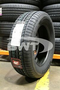 2 New General Altimax Rt43 98h 65k mile Tires 2256016 225 60 16 22560r16