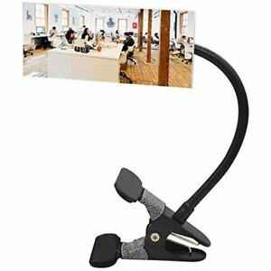 Clip On Security Mirror Convex Cubicle For Personal Safety And Desk Rear View