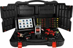 Autel Ms908cv Hd Fleet Maxiflash Elite Programming And Scan Tool New