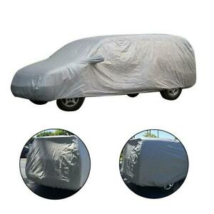 210d Silver Coating Oxford Universal Suv Car Cover Outdoor Protection Size Xl