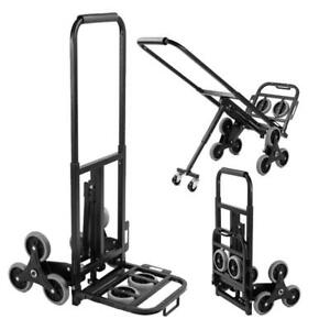 330lb Heavy Duty Stair Climbing Moving Dolly Hand Truck Warehouse Appliance Cart