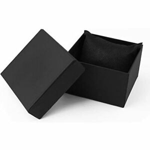 Single Watch Gift Boxes 12 Pack Jewelry Bangle Bracelet For Men And Women black
