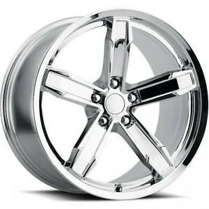 20x11 Chrome Wheel Factory Reproductions Z10 Iroc Z Camaro Wheels 5x120 43