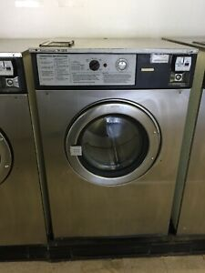 Wascomat 184 Front Load Stainless Steel Coin op Commercial Washer