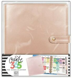 The Happy Planner Classic Deluxe Cover Rose Gold New