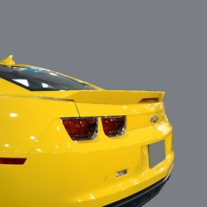 Unpainted primer Gray Spoiler Deck Wing With Led Light For Camaro 2010 2013