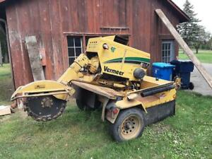 Vermeer Stump Grinder Cutter Sc802 2012 1746 Hours