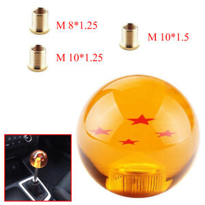 1x Dragon Ball Z Shift Knob 4 Star 10 1 25 Thread Fit 240sx 350z Rx7 Eclipse Red
