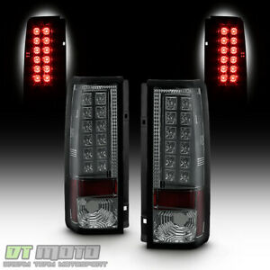 Smoked 1985 2005 Chevy Astro Van Gmc Safari Lumileds Led Tail Lights Left Right